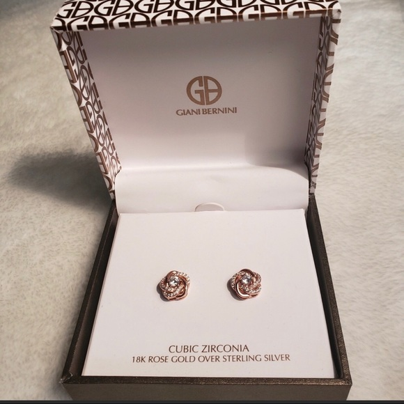 140ffe5db Giani Bernini Jewelry | Sterling Silver Nwt Love Knot Stud Earrings ...